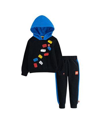 Флисовая худи и джоггеры для малышей LEGO, комплект из 2 предметов LEGO®