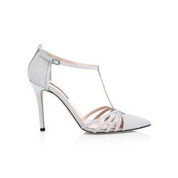 Туфли-лодочки Carrie с Т-образным ремешком и блестками SJP by Sarah Jessica Parker