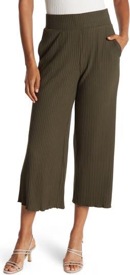 Knit Rib Cropped Pants CATHERINE Catherine Malandrino