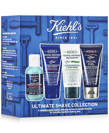 4-шт. Набор для бритья Ultimate Kiehl's Since 1851
