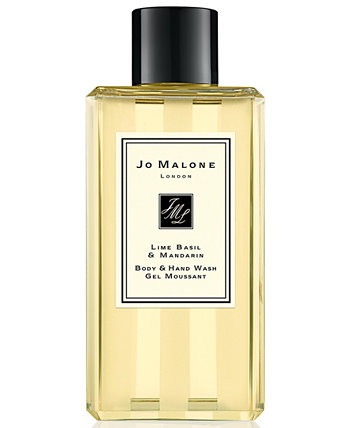 Средство для мытья рук и тела с лаймом, базиликом и мандарином, 8,5 унций. Jo Malone London