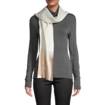 Металлический шарф с эффектом омбре JOCELYN