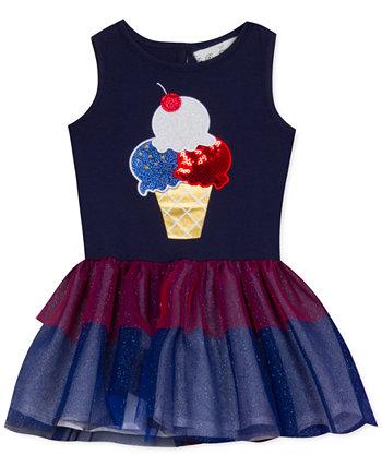 Платье-пачка с мороженым для маленьких девочек Rare Editions