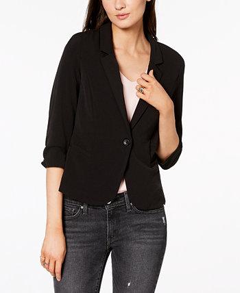 Джуниорский пиджак со сборками на рукавах 3/4 BCX
