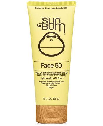 Лосьон для лица SPF 50, 3 унции. Sun Bum