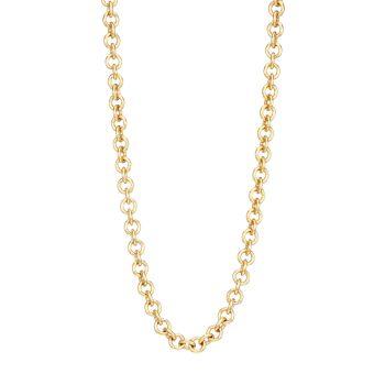 Ожерелье-цепочка из стерлингового серебра с покрытием из 14-каратного золота Judith Leiber