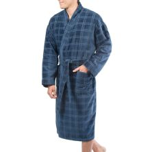 Big & Tall Residence Velour Kimono Robe Residence