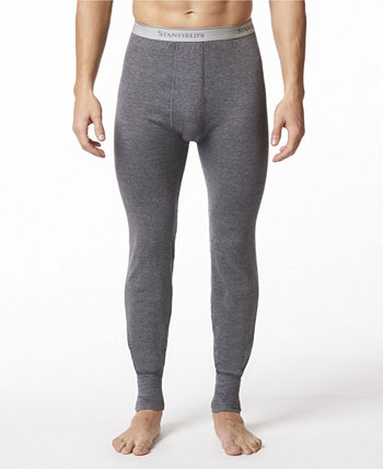 Мужские двухслойные утепленные брюки из смесового хлопка Stanfield's
