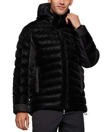 Мужская стеганая куртка свободного кроя BOSS BOSS Hugo Boss