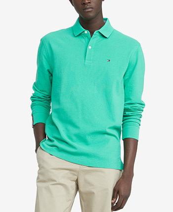 Men's Kent Long Sleeve Polo Shirt Tommy Hilfiger