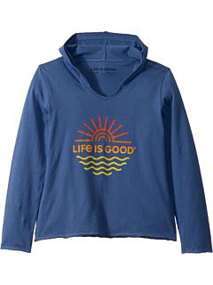 Sun Waves Knit Tee (Маленькие дети / Большие дети) Life is Good Kids