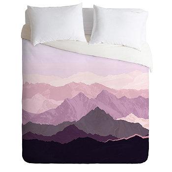 Набор пододеяльников с двумя односпальными кроватями Iveta Abolina Sugar Plum Deny Designs
