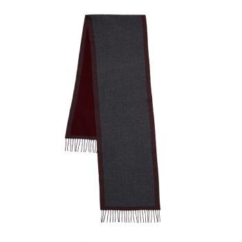 Двусторонний шерстяной шарф Saks Fifth Avenue Made in Italy