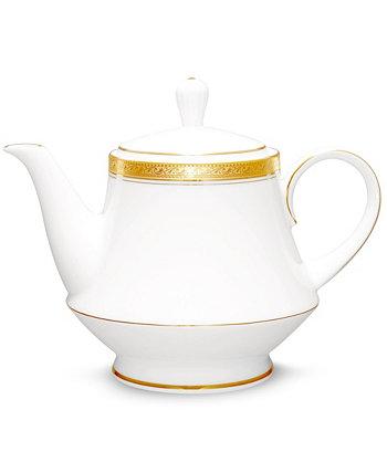 Чайник с золотом Crestwood Noritake