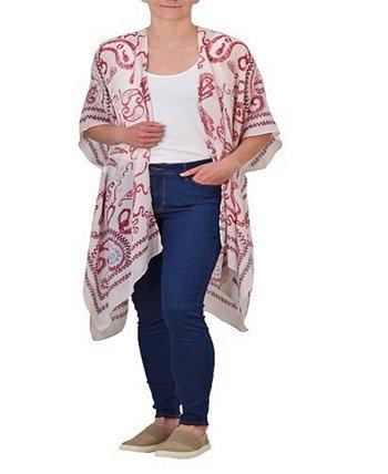 Женское тканое кимоно Save The Ocean