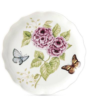 Круглое блюдо Butterfly Meadow Lenox
