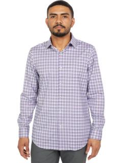 Рубашка с длинным рукавом Gianni Ooohcotton Tech с французской планкой BUGATCHI