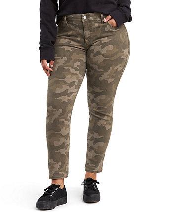 Модные джинсы скинни с камуфляжным принтом больших размеров 311 Levi's®