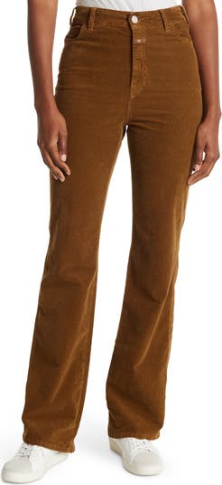 Kathy Cord High Rise Flared Pants CLOSED