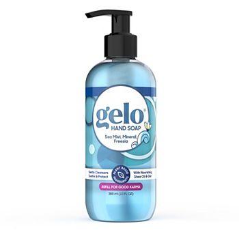 Gelo Liquid Gel Hand Soap - Sea Mist, Mineral, Freesia, 10 fl oz Gelo