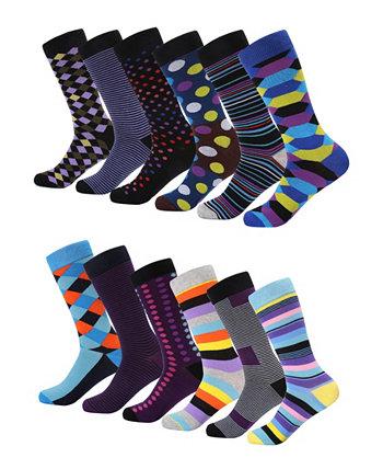 Мужская ретро-коллекция одежды носки пакет из 6 Mio Marino