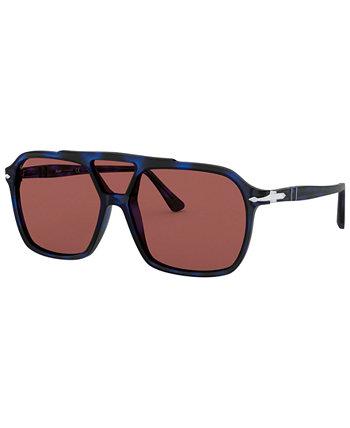 Поляризованные солнцезащитные очки, PO3223S 59 Persol