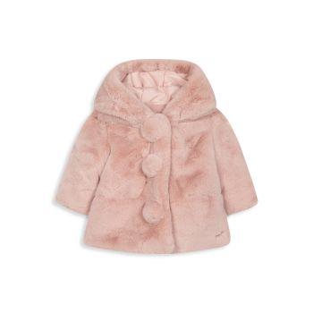 Детские & amp; Пальто из искусственного меха для маленьких девочек Tartine et Chocolat