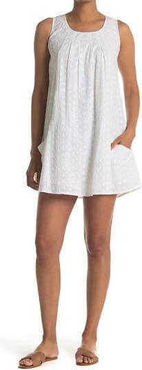 Свободное платье с вышитыми проушинами и карманами Papillon
