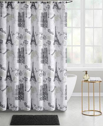 Paris 14-Piece Shower Curtain Bath Set Seventh Studio