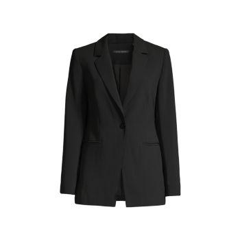 Sharp Two-Pocket Blazer Elie Tahari