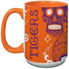 Clemson Tigers 15oz. Java Dia de los Muertos Mug Unbranded
