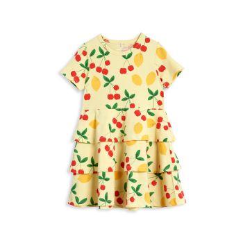 Платье прямого кроя для маленьких девочек и девочек Cherry Lemonade Mini rodini
