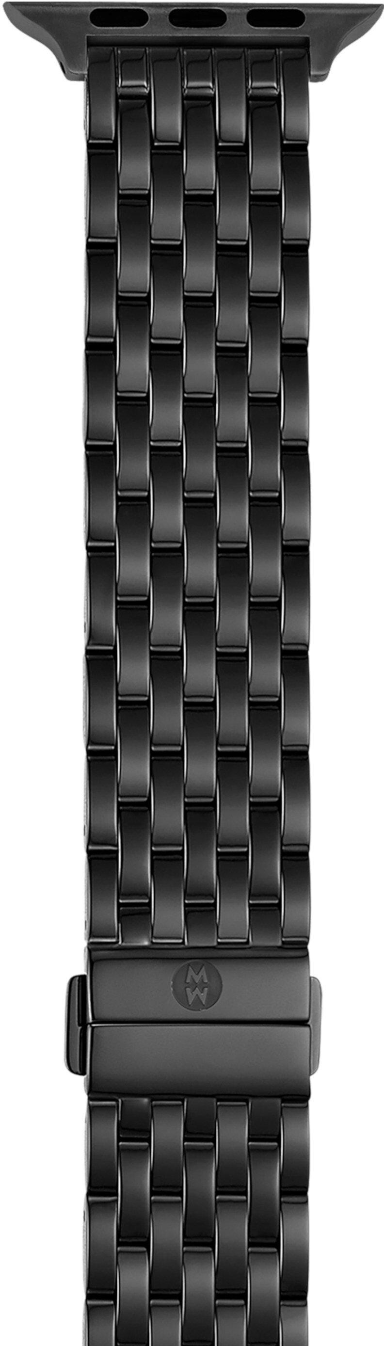 Черный ремешок-браслет с IP-покрытием для Apple Watch Michele