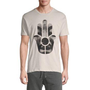 Hamsa Buddha Graphic T-Shirt KINETIX
