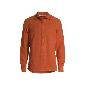 Рубашка на пуговицах с длинным рукавом Giles ORLEBAR BROWN