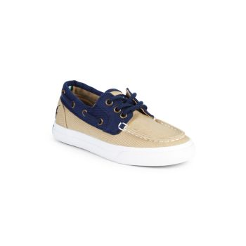 Холщовые туфли-лодочки Boy's Bridgeport Ralph Lauren