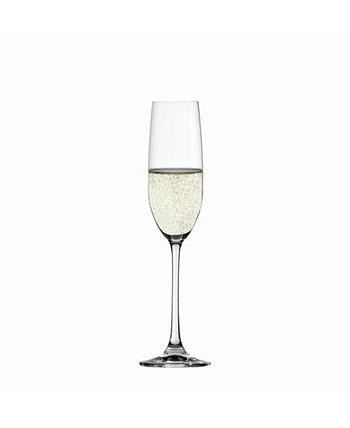 Набор из 4 флейт для шампанского Salute 7,4 унции Spiegelau