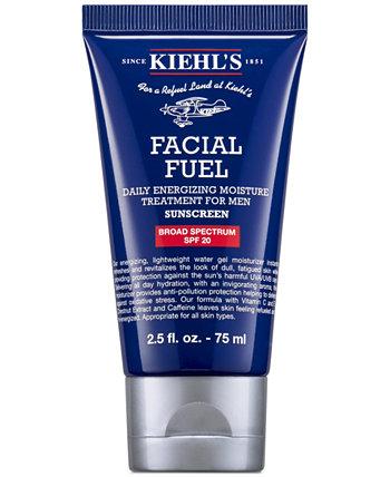 Ежедневное энергетическое увлажняющее средство для лица для мужчин SPF 20, 2,5 эт. унция Kiehl's Since 1851
