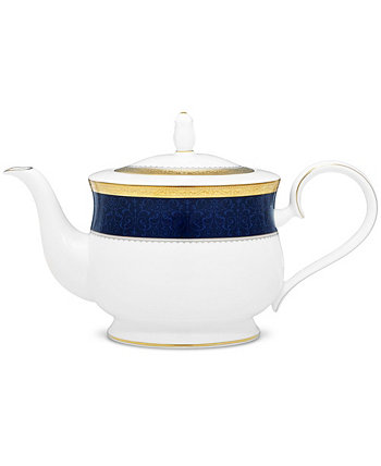 Одесский кобальтовый золотой чайник, 43 унции. Noritake