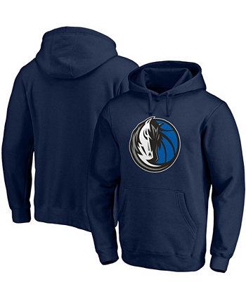 Мужская толстовка с капюшоном и логотипом Dallas Mavericks Primary Team Fanatics