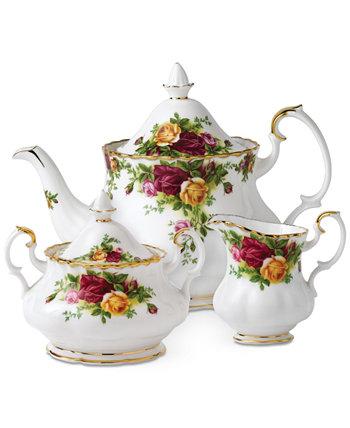 "Чайный сервиз из 3-х предм. ""Old Country Roses"" Royal Albert"