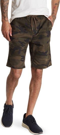 Камуфляжные шорты с кулиской HEDGE