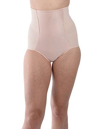Женское корректирующее белье с атласной передней частью и высокой талией Carnival