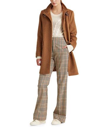 Пальто с пряжкой на воротнике, созданное для Macy's Ralph Lauren