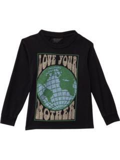 Рубашка с длинным рукавом с рисунком Love Your Mother World (для малышей / маленьких детей / старших детей) Tiny Whales