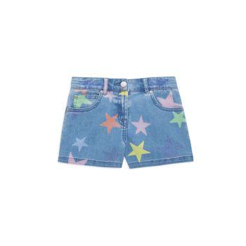Маленькая девочка & amp; Джинсовые шорты для девочек Stella McCartney Kids