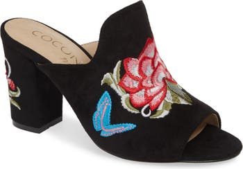 Мюли с вышивкой оборками Coconuts By Matisse