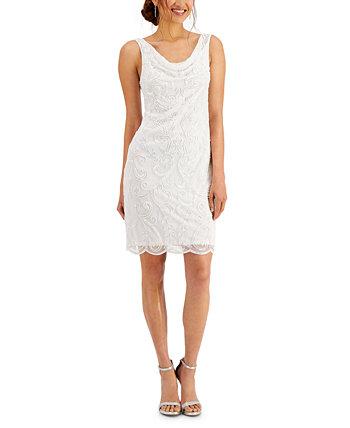Шифоновое платье с хомутом J Kara