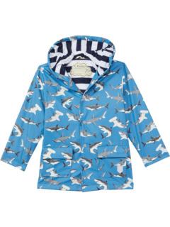 Плащ, меняющий цвет Deep-Sea Sharks (для малышей / маленьких детей / старших детей) Hatley Kids