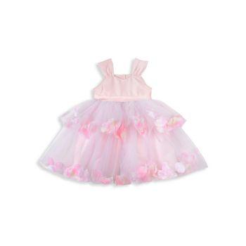 Детские & amp; Многослойное платье с лепестками для маленьких девочек Pippa & Julie